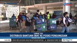 NasDem Distribusikan Obat Bagi Pengungsi Gempa Lombok