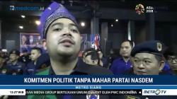Komitmen Politik Tanpa Mahar Partai NasDem