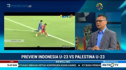 Preview Timnas U-23 vs Palestina