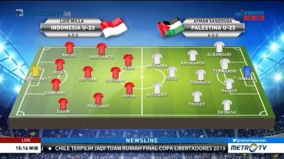 Perkiraan Formasi Timnas U-23 vs Palestina