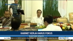 Jelang Pemilu 2019, Kabinet Harus Tetap Fokus Kerja