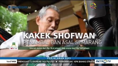 Tujuh Tahun Menabung, Kakek Penambal Ban di Semarang Naik Haji