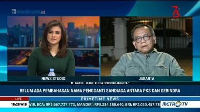 Belum Ada Pembahasan Nama Pengganti Sandiaga Antara PKS dan Gerindra