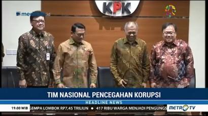 KPK Jadi Koordinator Tim Nasional Pencegahan Korupsi