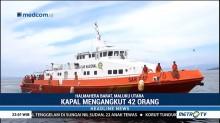 Kapal Pengangkut 42 Penumpang Tenggelam di Halmahera Barat