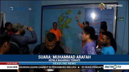 17 Korban Kapal Tenggelam di Halmahera Barat Ditemukan