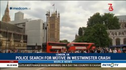 British Police Search for Motive In Westminster Crash