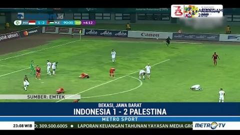 Timnas U-23 Ditaklukkan Palestina 1-2