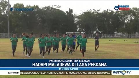 Timnas Sepak Bola Putri Jalani Latihan Jelang Hadapi Maladewa