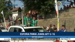 Euforia Kemenangan Timnas Indonesia di AFF U-16