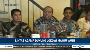 Tokoh Lintas Agama Sumut Dukung Jokowi-Ma'ruf
