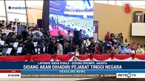 Jokowi akan Berpidato Tiga Kali dalam Rangkaian Sidang Tahunan