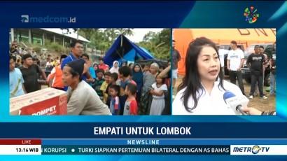 Media Group Salurkan Bantuan untuk Korban Gempa Lombok