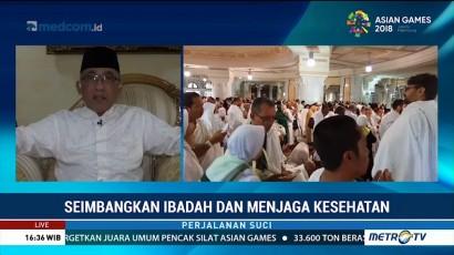 Jelang Arafah, Jemaah Haji Diimbau Seimbangkan Ibadah dan Menjaga Kesehatan
