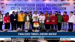 Ketua Timses Jokowi-Maruf Diumumkan Pekan Depan