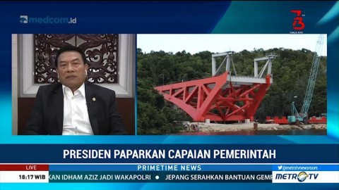 Pidato Kenegaraan, Jokowi Paparkan Pembangunan Infrastruktur
