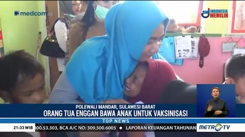 Sejumlah Orangtua di Polewali Mandar Enggan Imunisasi Anak