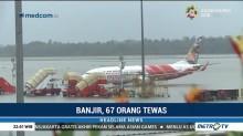 Banjir Rendam Bandara Cochin India