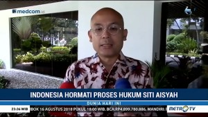 Indonesia Hormati Proses Hukum Siti Aisyah