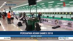 Atlet Menembak dari Berbagai Negara Berlatih di Jakabaring