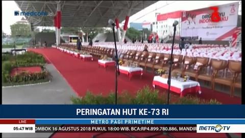 Pemkot Makassar Gelar Upacara 17 Agustus di Lapangan Karebosi
