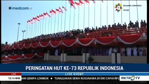 Peringatan HUT RI di Makassar Berlangsung Meriah