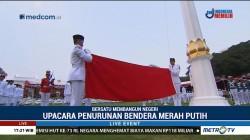 Upacara Penurunan Bendera (1)