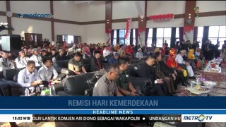 Nazaruddin Terima Remisi HUT RI