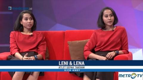 Si Kembar Lena & Leni Atlet Sepak Takraw yang Pernah Menjadi