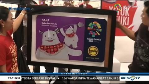 PT KCI Luncurkan Kartu KRL Edisi Asian Games
