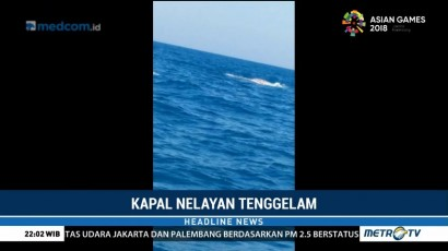 Kapal Tenggelam di Jawa Timur, 2 ABK Dinyatakan Hilang
