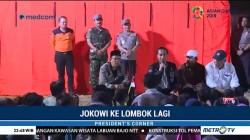 Saat Jokowi Menginap di Pengungsian