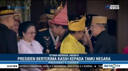 Usai Upacara, Jokowi Berterima Kasih Kepada Tamu Negara