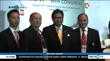 Airlangga Hartarto Jadi Komite Eksekutif Federasi Wushu Asia