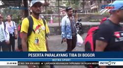 Peserta Cabor Paralayang Tiba di Bogor