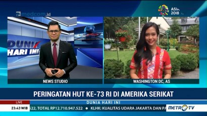 Peringatan HUT ke-73 RI di AS