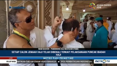 Persiapan Jelang Puncak Ibadah Haji
