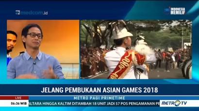 Jelang Pembukaan Asian Games 2018