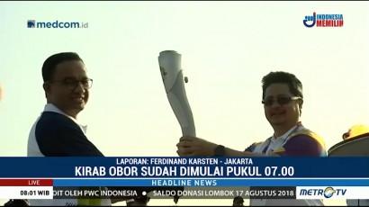 Obor Asian Games Dikirab Menuju GBK