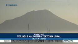 Aktivitas Gunung Ile Lewotolok Fluktuatif