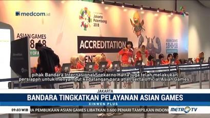 Bandara Soetta Tingkatkan Pelayanan Jelang Asian Games