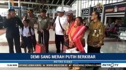 Bocah SMP Pemanjat Tiang Bendera Tiba di Jakarta