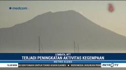 Aktivitas Vulkanik Gunung Ile Lewotolok Kembali Meningkat