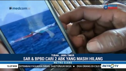 Dua ABK KM Barokah Belum Ditemukan