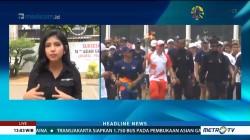 Obor Asian Games Tiba di Gedung DPR