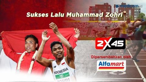 Sukses Lalu Muhammad Zohri