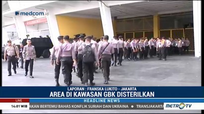 TNI-Polri Sisir Kawasan GBK
