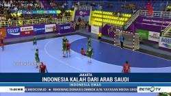 Tim Bola Tangan Putra RI Kalah Telak dari Arab Saudi