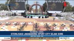 Jakabaring Sport City Disterilisasi Jelang Pembukaan AG 2018