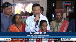 Menpora Ajak Bocah Pemanjat Tiang Bendera Tonton Pembukaan AG 2018